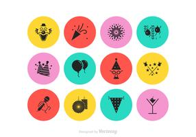 Free Party Vector Icon Set
