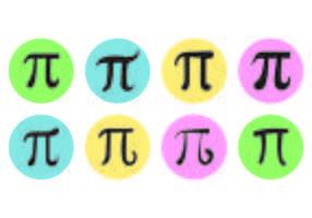 Pi Symbol Vectors