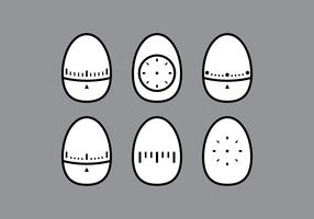 Egg Timer Vectors