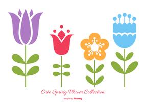 Cute Spring Flowers Collection