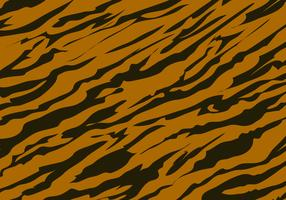 Tiger Stripe Pattern Background