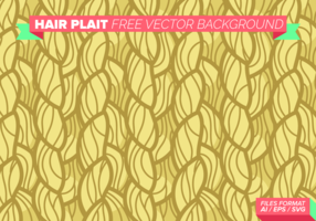 Hair Plait Free Vector Background