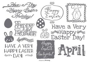 Cute Easter Doodle Collection