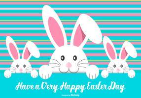 Cute Easter Bunny Illustration