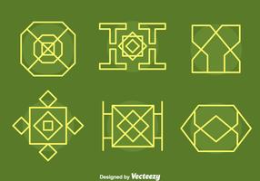 Islamic Ornament Collection Vectors