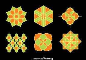 Islamic Ornament Collection Vector