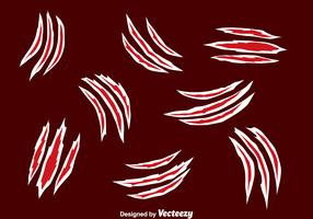 Scratch Marks Collection Vectors