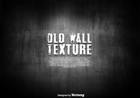 Old Dark Wall Texture - Vector