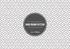Cute Geometric Hand Drawn Style Pattern Background