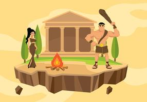 Hercules Cartoon Free Vector