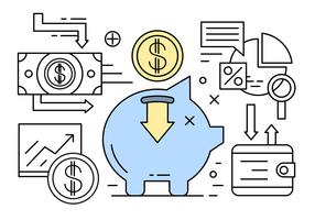 Linear Banking and Finance Vector Elements