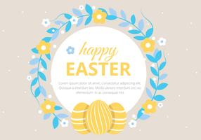 Free Easter Holiday Vector Background