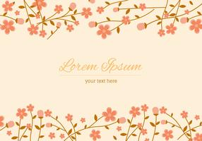 Peach Blossom Background