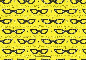 Cat Eye Glasses Pattern