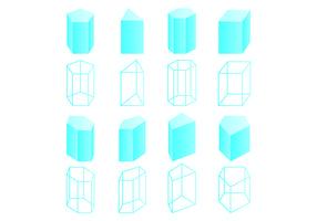 Set Of Prisma Vectors