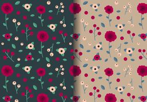 Free Vintage Rose Pattern