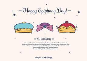 Epiphany Background Vector
