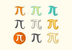 Free Pi Symbol Vector