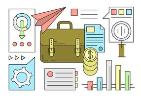 Free Business and Finance Icons in Minimal Style