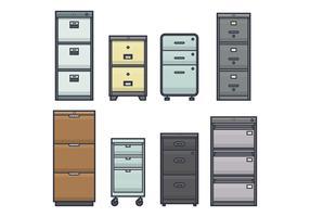Office File Cabinet Vectors