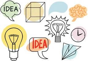 Mind and Idea Vectors