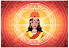 Free Lakshmi Illustration Vector