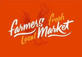 Rooster Farmers Market Design
