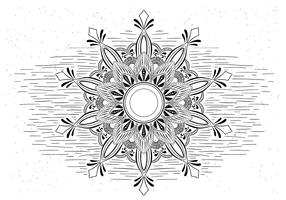 Free Vector Mandala Illustration