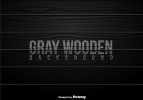 Grey Wooden Planks Vector Background