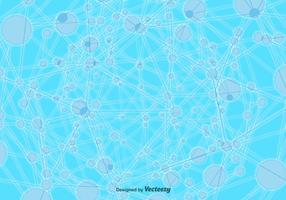 Vector Technologic Molecule Background