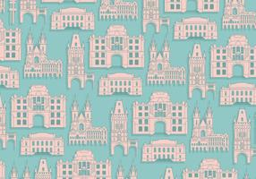 Prague Pattern Vector