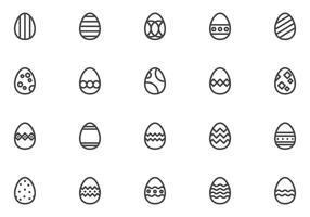 Free Easter Eggs Vectors