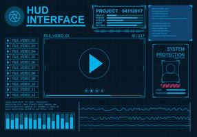 Hud Interface Vector Set
