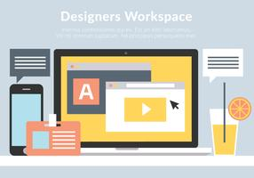Free Business Workplace Vector Elements