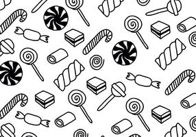 Black & White Candy Patterns