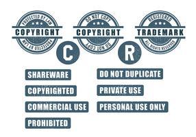 Copyright Icon Vector