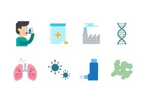 Free Asthma Vector Icons