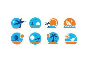 Summer Vector Emblems
