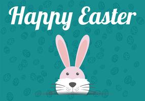 Easter Flat Background Vector