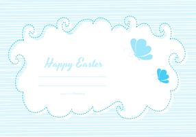 Cute Easter Card Template