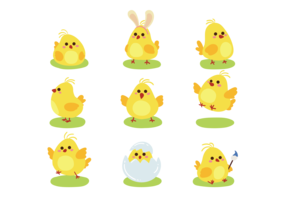 Easter Chick Cute Icons
