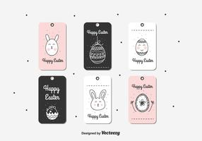 Doodle Easter Gift Tag