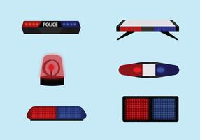 Police Light Vector Pack