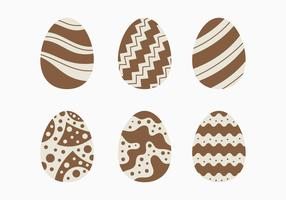 Decorative Chocolate Easter Egg Collection