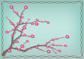 Japanese Plum Blossom Illustration
