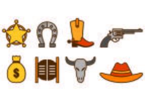 Set Of Gaucho Icons