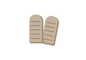 10 Commandments Vector