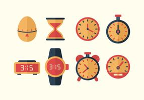 Free Time Vector Icons