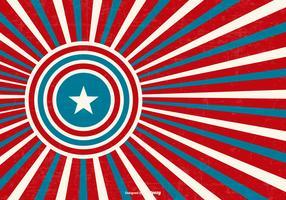 Patriotic Retro Style Background