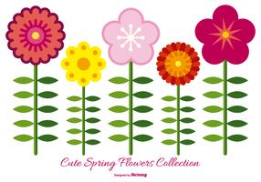 Cute Spring Flower Collection
